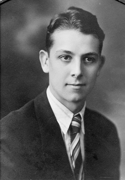 Leroy E. McChesney Jr.  I believe that this is his high school graduation picture.