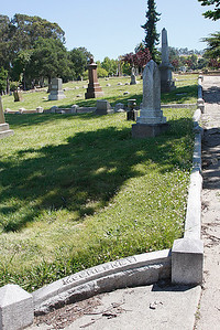 plot 34, lot 119 Mountain View Cemetery, Oakland, CA.
