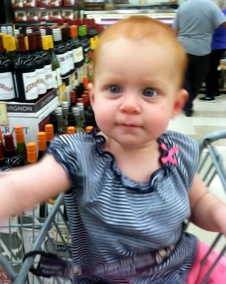 Maylee shopping at Windmill Farms