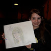 This girl can draw very well.