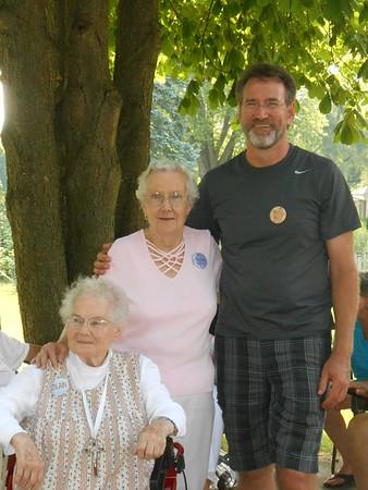 Jean McCabe, Shirley Moser and Greg MacDonald