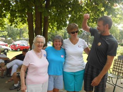 Shirley, Mo, Mary and Greg