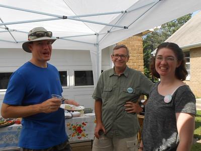 Josh, Dennis and Kim Griffin