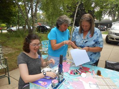 Kim Griffin, Maureen(Mo) Maloney, Sandy Coon