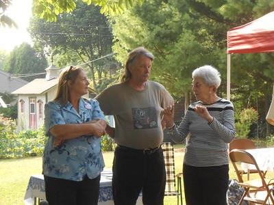 Sally & Mike Coon, Joan MacDonald