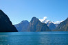 The beautiful Milford Sound, New Zealand
