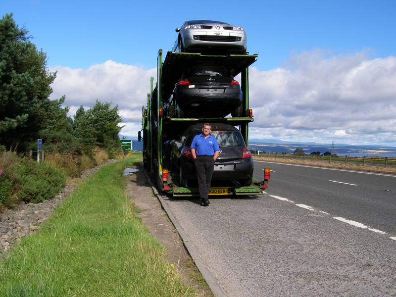 A9  near Inverness Scotland,top of the hill.The A9 from Perth to Inverness is my favourite road