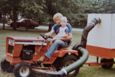 Mowing Grandma Ruth's Lawn w/Larry