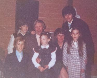 Pat McGrath & Family 1980