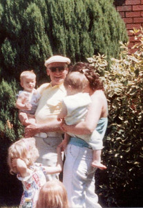 Grandpa Jack, Michael, Marisa, Tommy