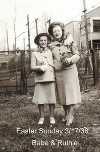 Grandma Ruth & Aunt Babe