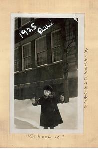 Grandma Ruth 1925 - Kindergarten