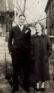 Jack & Ruth ~ Thanksgiving Day 11/25/37