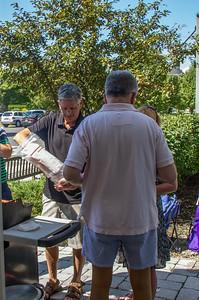 Bob Sano cooks with John Dsurney