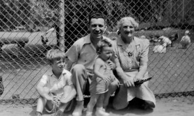 Billie, Mickey, Elaine & Gramma McGrath