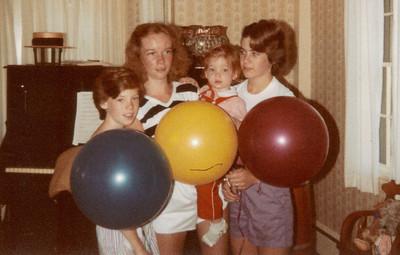 Georgette, Jean, Becky, Amy