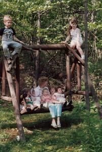 Grandma Ruth & kids 1985