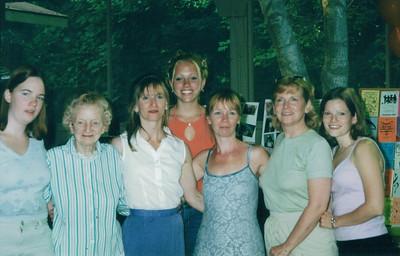Grandma Ruth, Joan, Molly, Jean, Ruth
