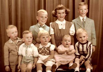 Bobby, Jane Ann, Jackie,<br /> Patty, Dickie, Patty, Mary Ann, Billy
