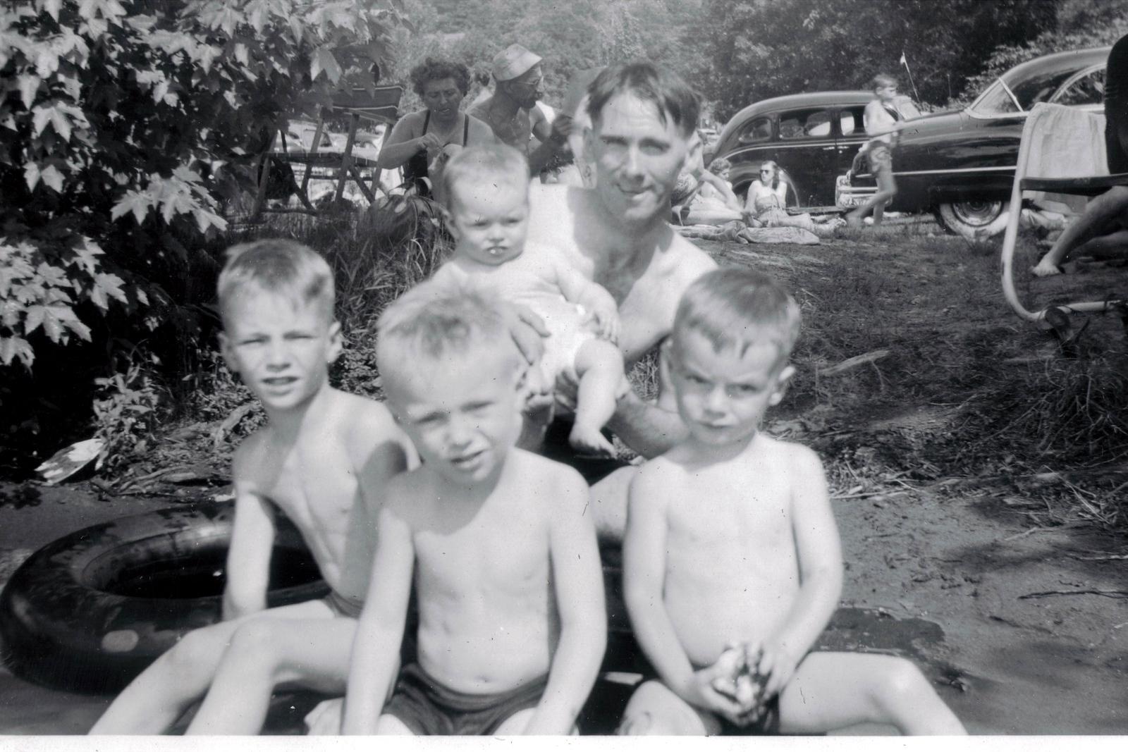 Jack, Pat, Dick, Maryann, Dad