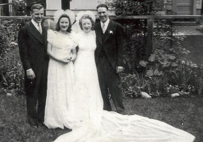 Uncle Jack Bylancik, Aunt Mary McCaffery, Mom & Dad