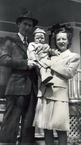 Dad, Jack (1 yr), Mom