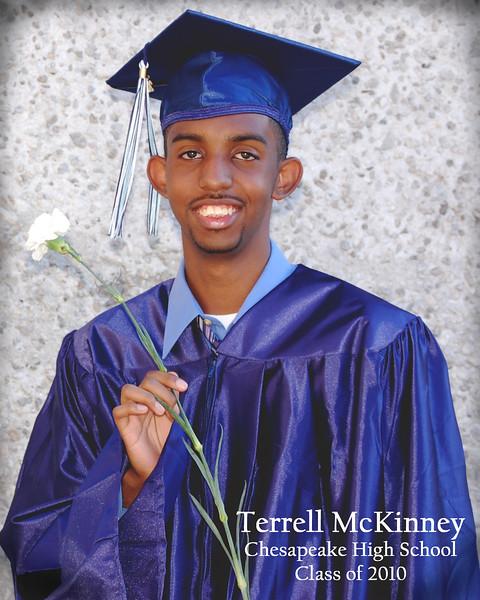 2010 Terrell McKinney Graduation