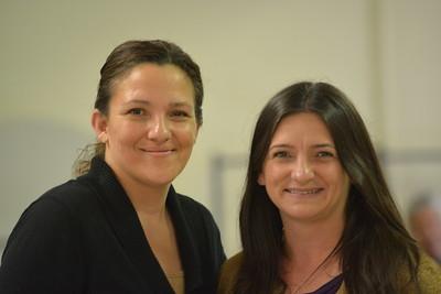 Theresa Gamboni and Mina