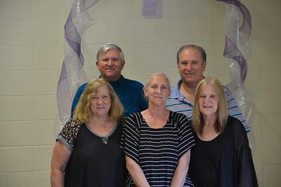 Back Louie Gamboni, Gary Gamboni --- Front Betty Antonetti, Debbie Esquivel, Janice Gamboni