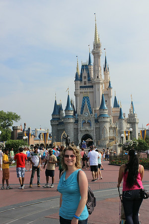 My first time at Walt Disney World.  We went for 2 weeks. It was so fun. May 2014