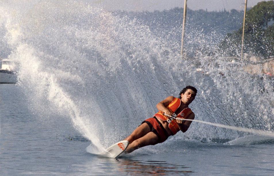 Aug 1982 - Astir Ski Club, Corfu, Greece