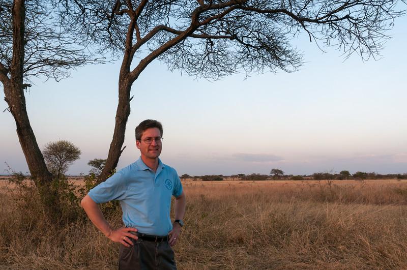 David in the Serengeti