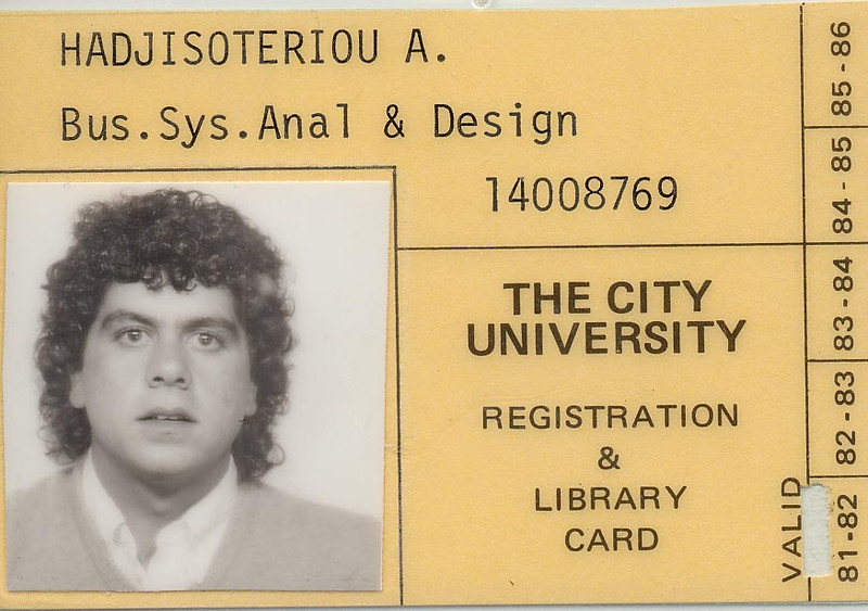 Sep 1981 - City University Business School, London, UK