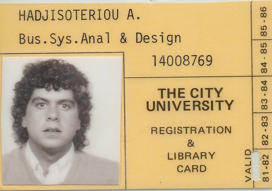 Sep 1981 - City University Business School, London, UK