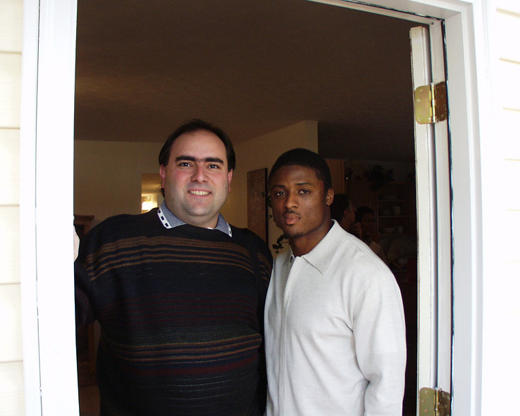 Atlanta Falcon Warrick Dunn does an amazing job helping single mothers get homes for their families.  A few years ago, he worked with DeKalb Habitat to get a home to a single mother.  I was on the Board of Directors at the time, and Director of Construction.