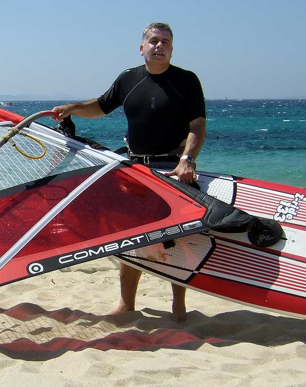 July 2007 - Mikri Vigla, Naxos, Greece