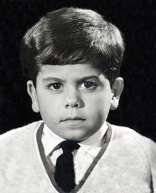 Mar 1965 - First passport photograph. Cyprus