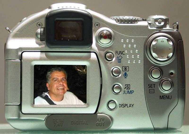 Aug 2004 - Self-portrait, Latsi Cyprus