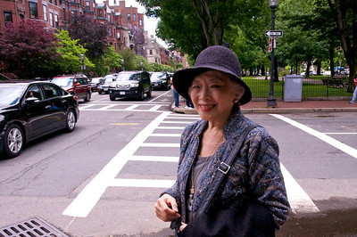 Meeting Judy in Back Bay June 2013
