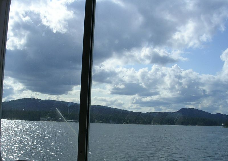 The ferry ride up to Swartz Bay was awesome.