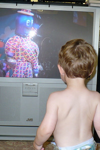 Daniel watches The Wiggles