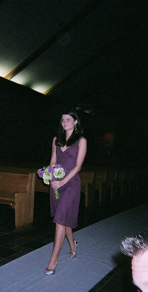 The charming Maid of Honor- aka sister of the Bride
