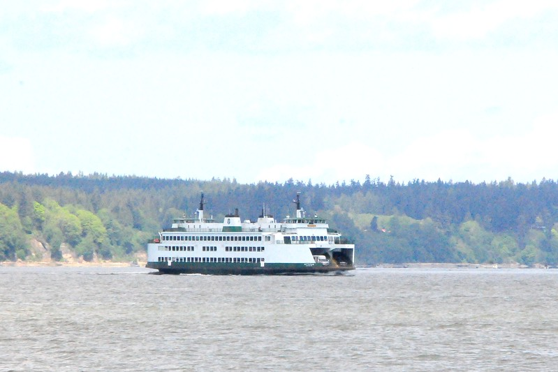 Most of us took the Mukilteo ferry to Clinton on Whidbey