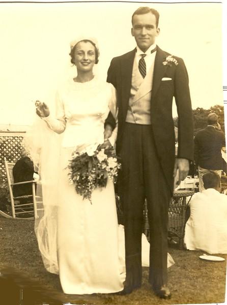 Lilla Joy Draper and Arthur Calfee