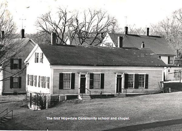 community school and chapel