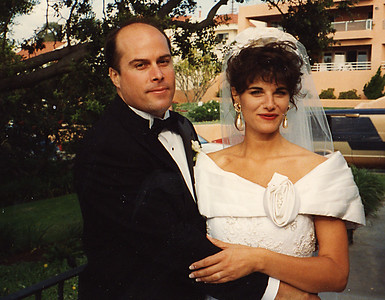 Wedding  - Melanie & Bryan Van - 1995