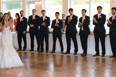 Melanie and the Groomsmen