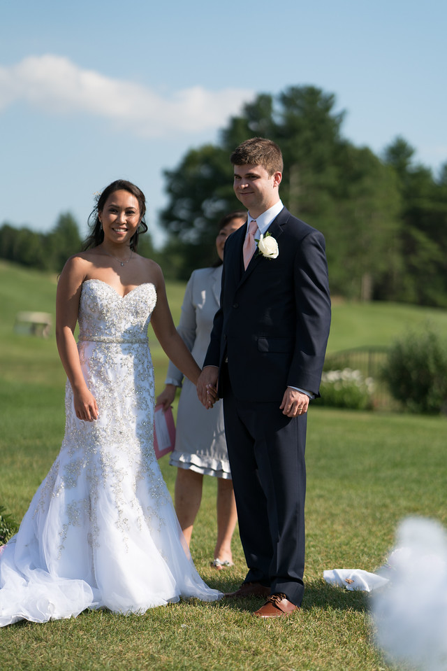 Mr. and Mrs. Branden and Melanie