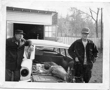 Martin Eberlein and Bob Melnick with Bob's First Deer
