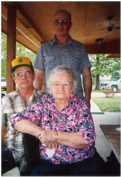 Uncle Charles, Uncle Billy and Memaw